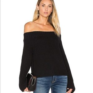 525 America Off the Shoulder Sweater